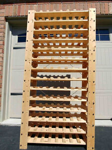 Large wine rack.