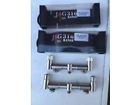 Jag two rod adjustable buzz bars