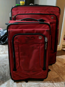 Swiss Army luggage with wheels $ $225 set of 3