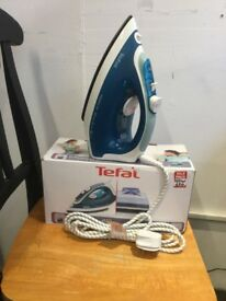 Tefal blue Electric iron