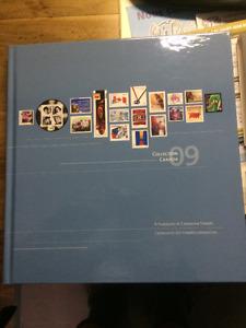 Album de timbres 2009