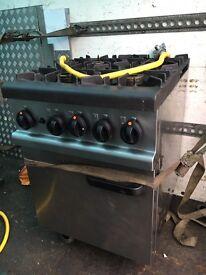 Lincat 4 burner cooker
