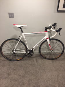 Cannondale Carbon Six 3 - with trainer