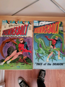 Thunderbolt comics numbers 57 and 58