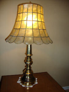 SET OF 2 TABLE LAMPS  $55.00 FOR BOTH.