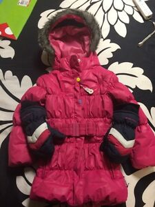4 T girls winter coat