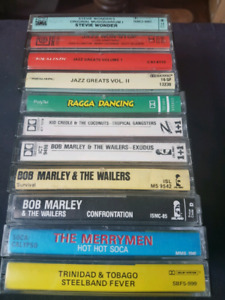 Jazz and Island Music Cassette Lot