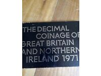 Decimal Coinage of Great Britain and Northern Ireland 1971