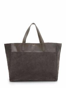 YSL Saint Laurent Tote Bag Seude Used