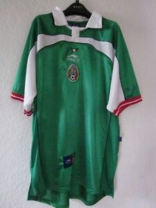 "New Original ""ATHLETICA"" OFFICIAL MEXICO WORLD CUP SOCCER SHIRT"