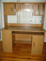 Desk and hutch for sale