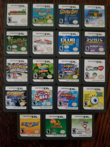 19 DS games left! $100 for lot