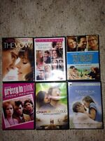 6 DVD's for $15