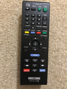 Sony TV/Bluray Remote Controls - Various