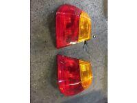 BMW e46 rear lamps