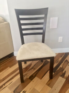 8 Hardwood Dining Room Chairs (top quality)