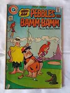 PEBBLES AND BAMM #17 CHARLTON NOVEMBER 1973 VG+ St. John's Newfoundland image 1