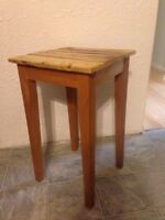 Side table plant stand coffee table