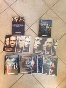 Battle star Galactica DVDs seasons 1, 2.0 and 2.5 Cambridge Kitchener Area image 1