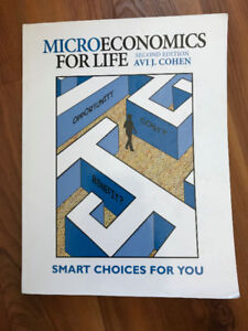 Microeconomics For Life 2E Cohen $30.00 or best offer