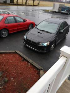 Mitsubishi Évolution X 2011