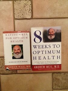 ANDREW WEIL, M.D.- 2 hard covers