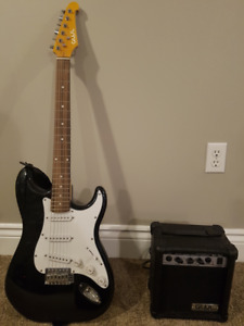 Electric Guitar and Amp Combo