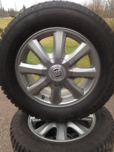 Winter Tires on Buick Aluminum Rims