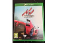 Asseto Corsa Xbox one played once pristine condtion