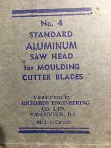 Aluminum Saw head for cutting moulding with two sets of cutters Belleville Belleville Area image 4