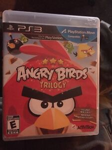 PS3 ANGRY BIRDS TRILOGY (Move compatible) London Ontario image 1