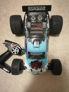 2 ARRMA RC cars. everything you need . ready to go. works great