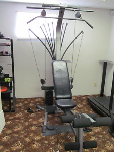 Bow Flex fitness machine.