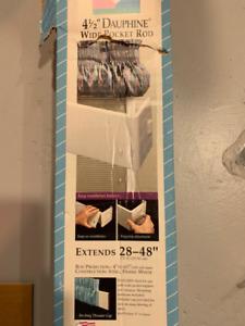 Curtain Rod for Drape Valance - $15