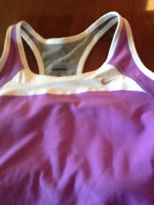 Nike Purple XL Dri Fit Racer Back Top - New with Tags
