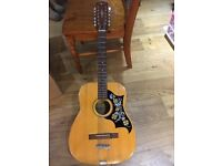 Angelica 2856 12 string acoustic guitar