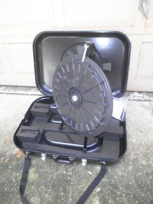20.5 Tabletop 12-slot Mini Prize Wheel With Case For Trade Show Raffles School