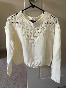 Chic-a-booti cream knitted jumper Prospect Prospect Area Preview