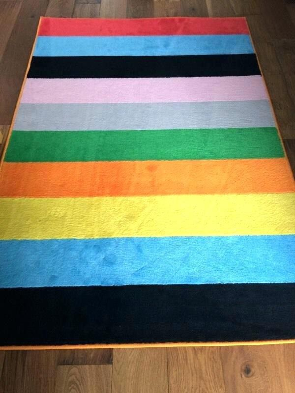 Ikea Striped Rug