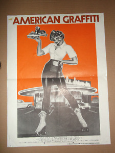 Affiche cinema American Graffiti