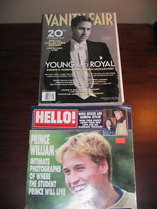 PRINCE WILLIAM..... 5 Rare Magazines from 2000 to 2003