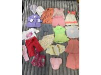 Baby Girl Clothes 6-12 Months 20 Pieces Clothing Bundle