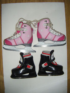2 pairs of Childrens Skates for sale