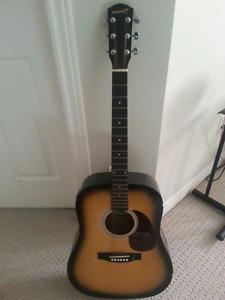 Fender Starcaster Electric Acoustic guitar