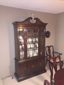 China Cabinet and glass