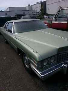 Very clean 1974 coupe deville