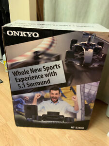 Onkyo HT-S3800 5.1 Package w/unused speakers, supports up to 4k!