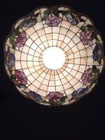 Stained glass dinning room chandelier