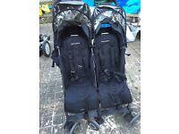 Maclaren Twin techno buggy stroller pushchair