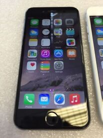 APPLE IPHONE 6 PLUS * GREY AND SILVER * ONLY 2 LEFT *****